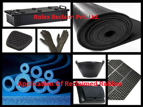 Reclaimed Rubber Applications